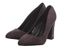 Туфли Loretta 36 р Серые (XK0188)