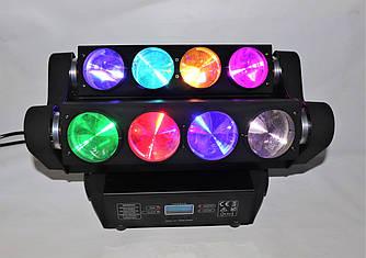 Подвижный световой прибор Spider Moving Head 8x10 W RGBW