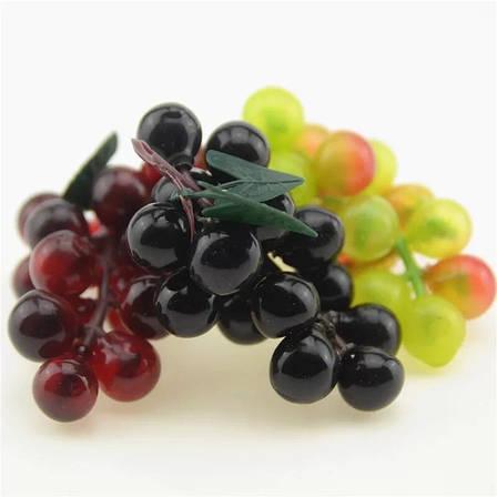 Искусственный виноград.Гроздь декоративного винограда., фото 2