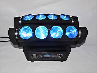 Подвижный свет Spider Moving Head 8x10 W RGBW