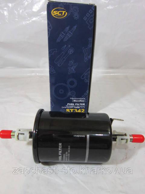 Фильтр топливный Ланос, ВАЗ 2109, 2110 инжектор, Приора, Калина SCT