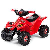 Квадроцикл электромобиль детский красный. Украинского производства.