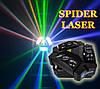 Led световой прибор 2в1 Spider moving head 9x10 RGBW laser RG, фото 5