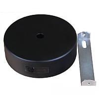 ElectroHouse Настенное крепление черное для трекового LED светильника 20/30W