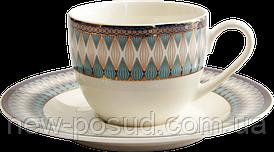 Кофейный сервиз Callisto Jacquard 90 мл из 2 предметов Astera А0531-TH5826D