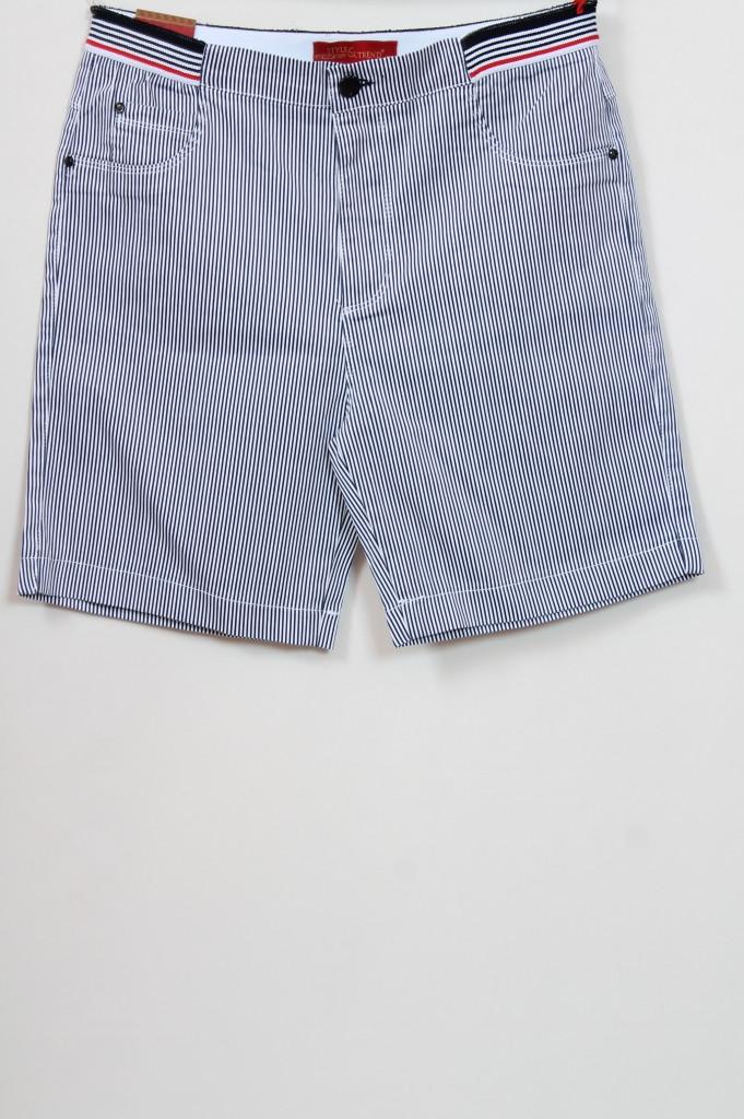 Турецкие летние женские шорты в полоску, размеры 48-64
