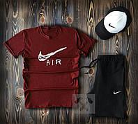 Мужской Спортивный костюм NIKE  футболка+шорты+кепка Nike
