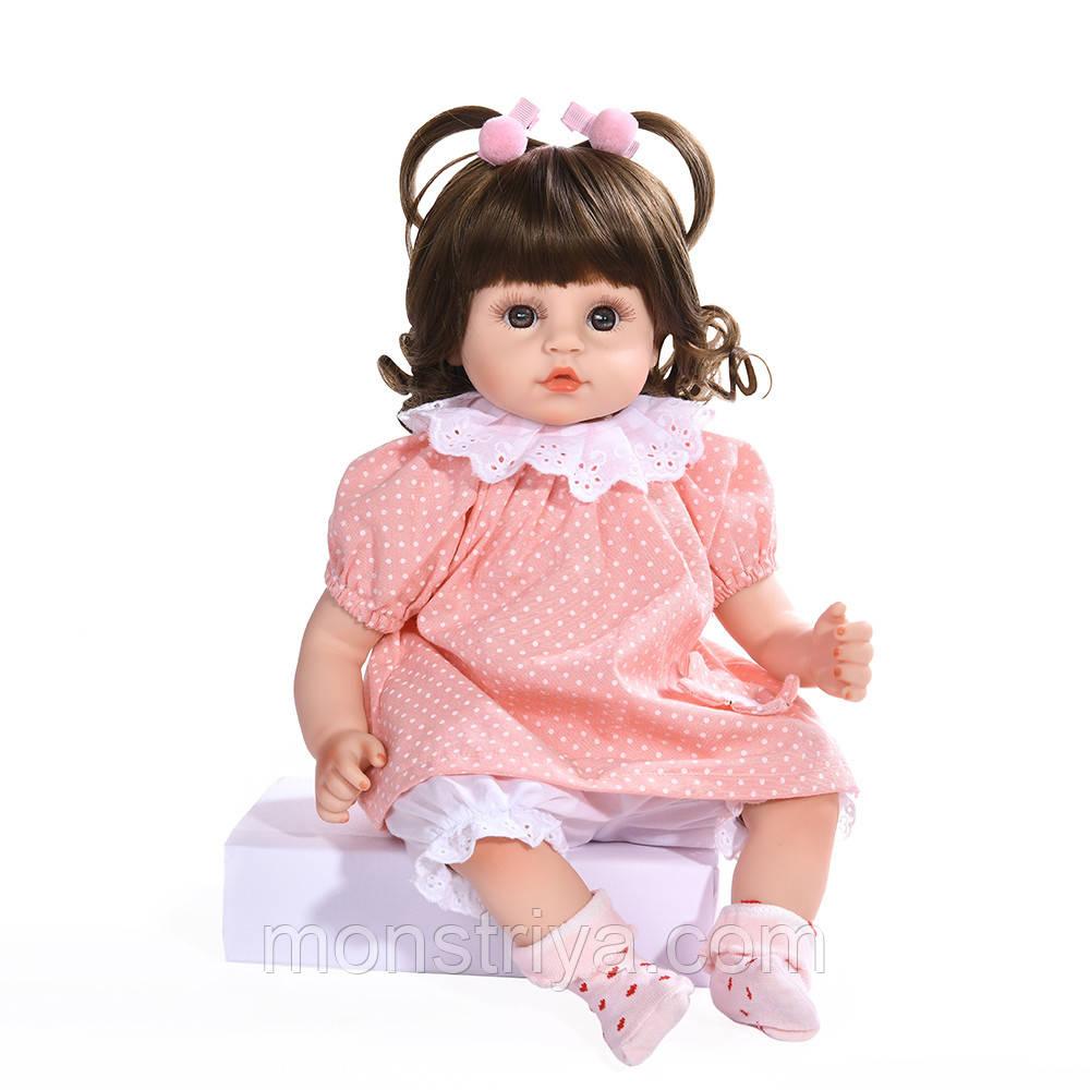 Кукла реборн девочка, издает звуки /  Reborn