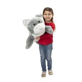 Плюшевая кошка 70 см мягкая игрушка ТМ Melissa & Doug MD30704