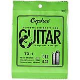 Струна Orphee TX-1-12 Plain Steel .012 acoustic or electric 10-pack, фото 2