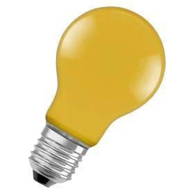 Лампа светодиодная OSRAM LEDSCLA15 2,5W/622 230V Y E27 желтая