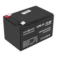 Аккумулятор  LogicPower 12V / 14 A Размер, мм (ДхШхВ):98х150х99
