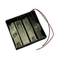 Батарейний відсік 18650-4BOX с проводом