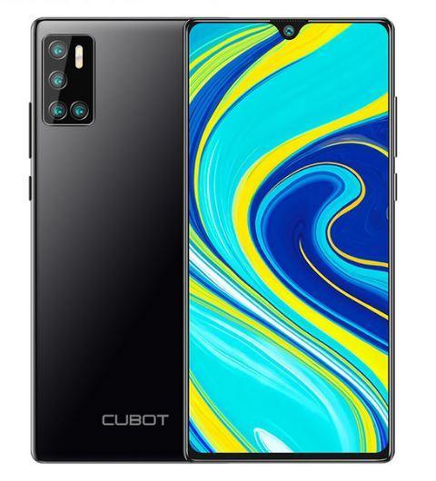 Смартфон Cubot P40 4/128 NFC Black + чехол книжка