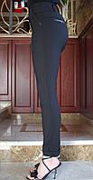 LEX№34/1 Ділові жіночі літні брюки 42-48, 56 чорні/ чорного кольору/ чорний