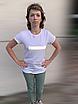 Модная женская футболка с  рефлективным рисунком, стильная женская футболка с  принтом РЕФЛЕКТИВ, фото 4