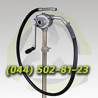 Ручной насос для бензина редукторный бочковой ручной насос для топлива масла