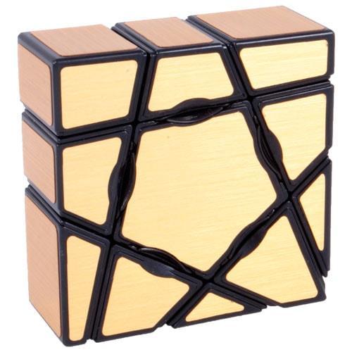 YJ Ghost Cube Gold   Призрачный куб 3х3х1
