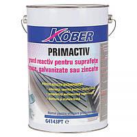 Кобер Грунт Primactiv 2-х  компонентный  по оцинковке - 2,5л