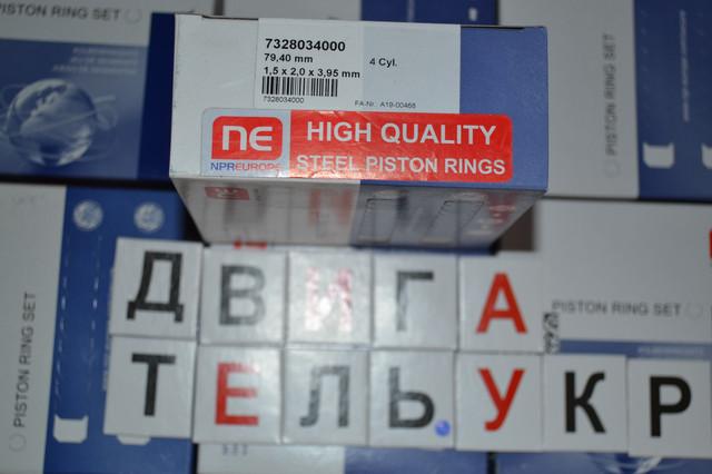 Наборные кольца 79.4 npr