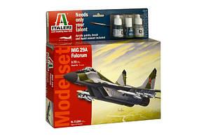 """Подарочный набор. Сборная модель МиГ-29А """"Фулкрум"""" в масштабе 1/72. ITALERI 71184"""
