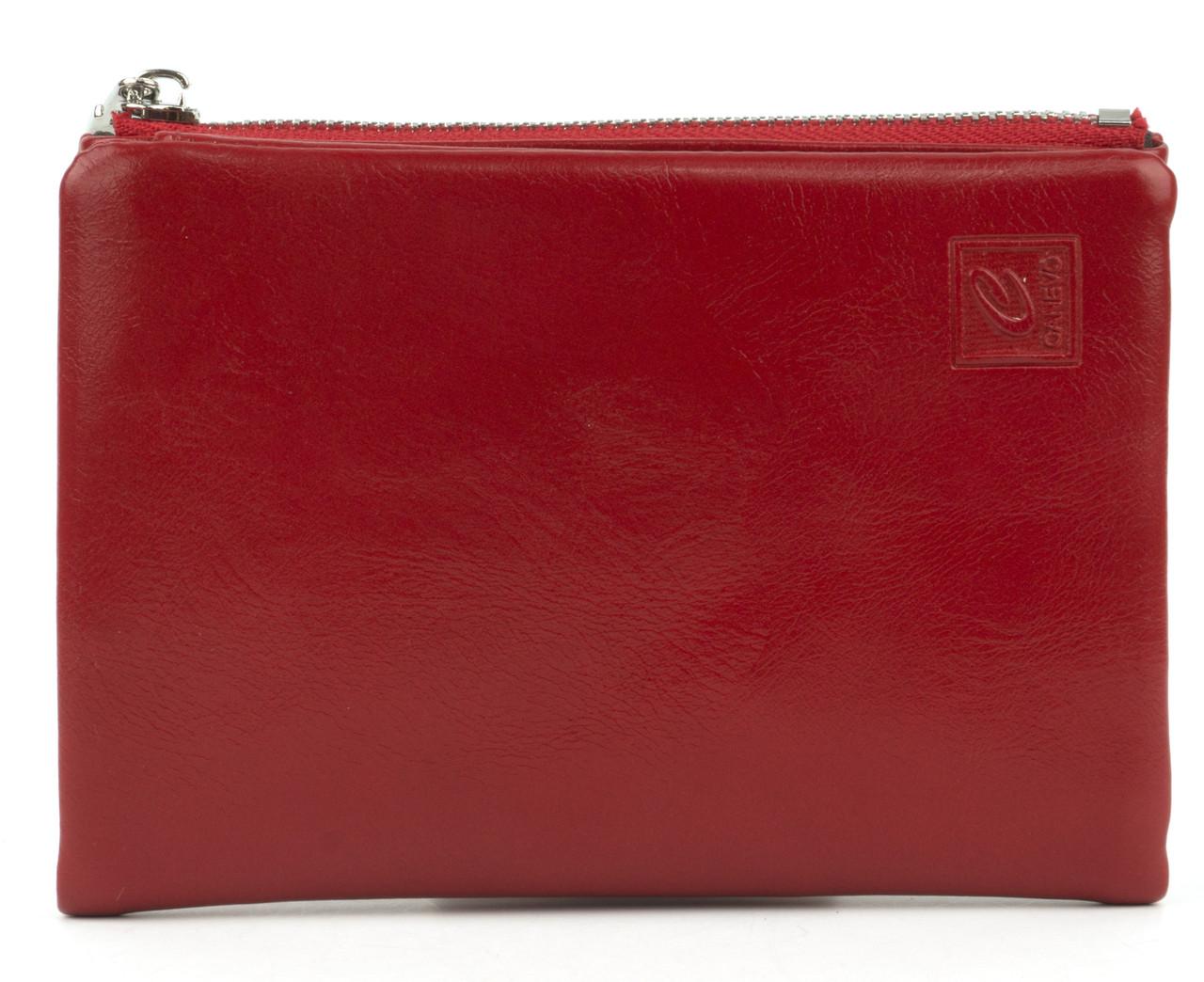 Женский вместительный кошелек из эко кожи CANEVO art. C-6117