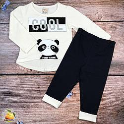 """Костюм """"Панда"""" для маленькой девочки Размеры: 1,2,3,4 года (20547-3)"""