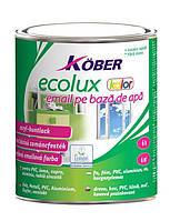 Эмаль на водной основе KOBER Ecolux color белый - 2,5 л.