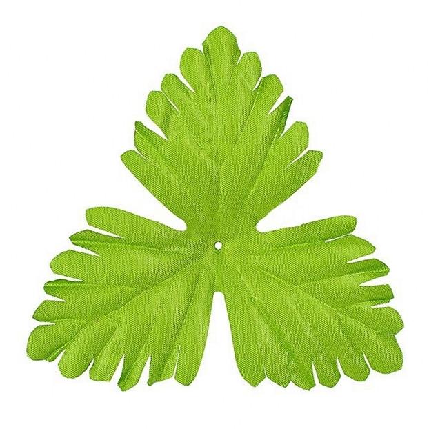Лист дуба зеленый ,14 см(200 шт. в уп.)
