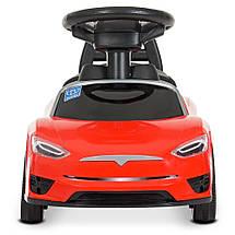 Детский толока Tesla (реплика) Красный, фото 3