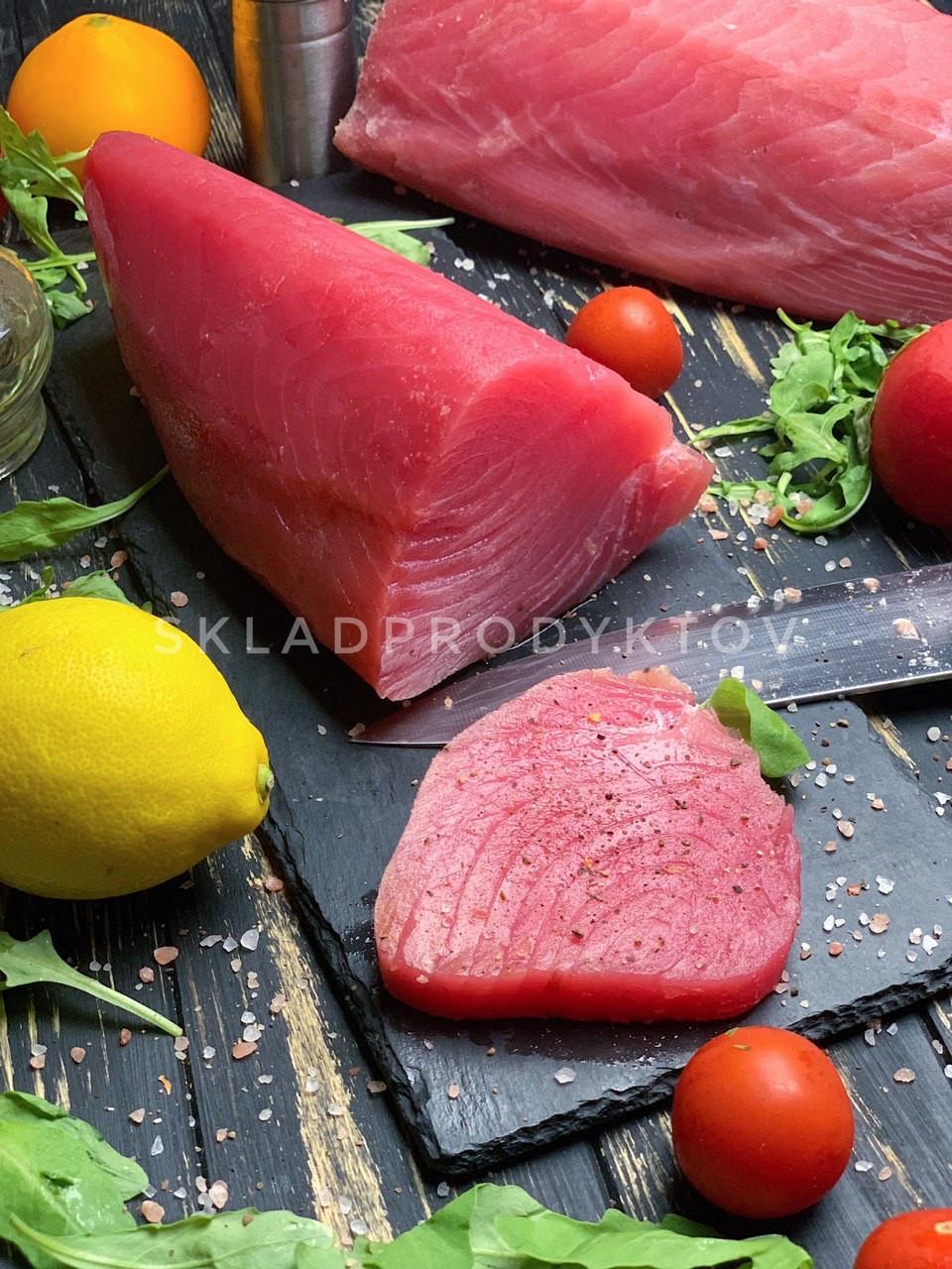 Балик тунця(хвостова частина) Instagram: skladprodyktov_ukraine
