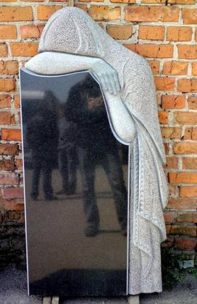 Гранітний пам'ятник одинарний 104, фото 2