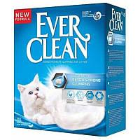 Кошачий наполнитель Ever Clean наповн д/кот.туал Екстра Сила без запаху - 10л, фото 1