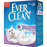 Наполнитель туалетов для кошек Ever Clean Lavander с ароматизатором лаванды 10 л, фото 1