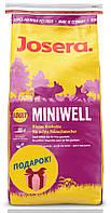Сухой корм для взрослых собак Josera Miniwell  для мелких пород 15кг
