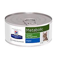 Wet PD Feline Metabolic-Ожиріння, зайва вага-156 г
