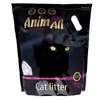 Силикагелевый наполнитель AnimAll Premium Кристаллы аметиста для котов, 7.6 л (3.2 кг)
