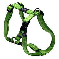 Нейлоновая шлея для собак, зеленая Utility Green (Рогз) S: 20-37 см, фото 1