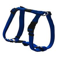Нейлоновая шлея для собак, синий Utility Orange (Рогз) L: 45-76 см, фото 1