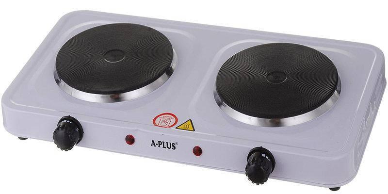 Електроплита на 2 конфорки A-Plus AP-2104, фото 2
