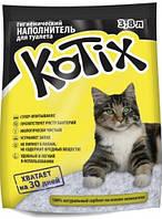Котикс (Kotix) силикагелевый наполнитель для туалета 3,8л