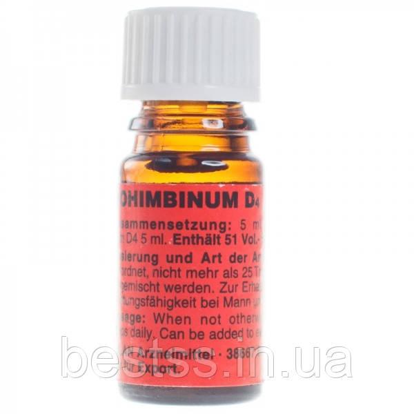 Возбуждающие капли для двоих Milan Yohimbinum D4 (экстракт йохимбе), 5 мл