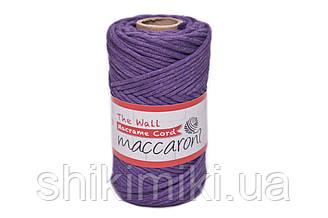 Еко шнур Macrame Cord 3 mm, колір Лаванда