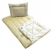 Детское одеяло и подушка из овечьей шерсти Billerbeck Бамбино 110х140 и 40х55 облегчённое