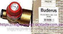"Клап. авар. TS 3 бара латунь подкл нар. внутр 3/4"" (б.ф.у, Китай) Buderus Delta и др, арт. PK21К, к.з. 0301"
