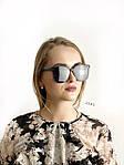 Стильные солнцезащитные очки черные, фото 2
