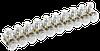 Зажим винтовой  концевой изолированный КЗВИ 10 мм2  (10x1) IEK