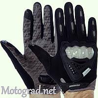 Мото Перчатки MasTex черно-серые 3