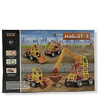 Магнитный конструктор LT MAGniSTAR 6001 87 дет.