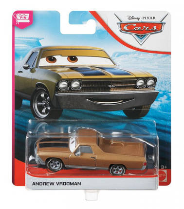 Тачки: Эндрю Врумон (Andrew Vrooman) Disney Pixar Cars от Mattel, фото 2